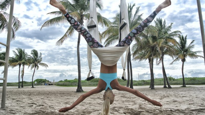 Lose Weight While Playing Around With Aerial Fitness